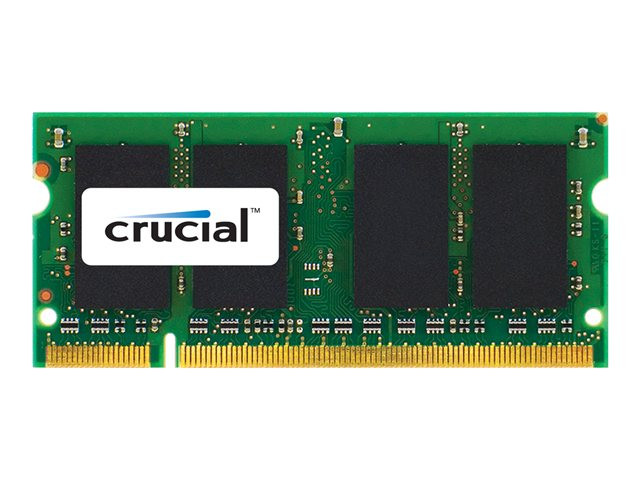 Crucial : 2GB DDR2-800 CL6 SODIMM PC2-6400 200PIN pour MAC