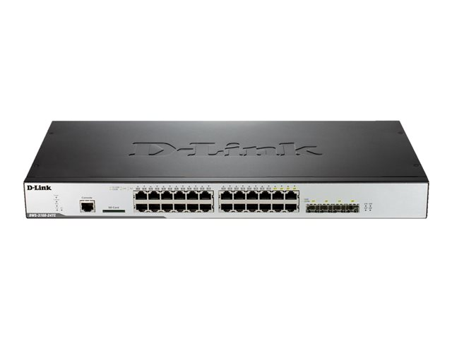 D-Link : WIRELESS SWITCH 20-PORTS 1000T avec 4 COMBO 1000BASE-T /SFP PORTS