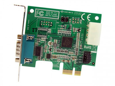 Startech : CARTE SERIE RS232 PCI EXPRESS FAIBLE ENCOMBREMENT avec 1 PORT