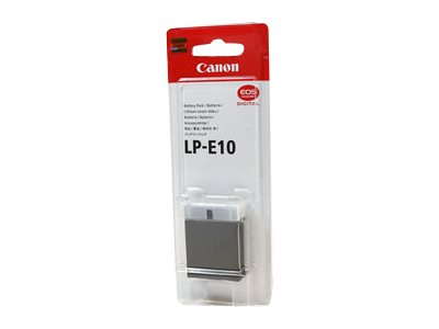 Canon : BATTERY pack - LP-E10 pour EOS 1100D