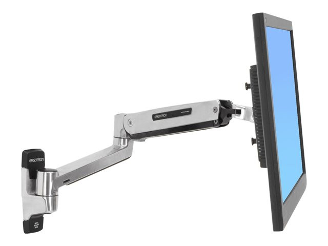 Ergotron : 42 LCD LX SIT-STAND POLISHED WALL MOUNT ARM