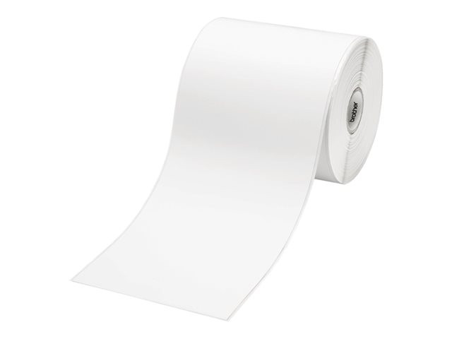 Brother : CONTINUOUS LENGTH papier LABEL Blanc 102MM X 44 M