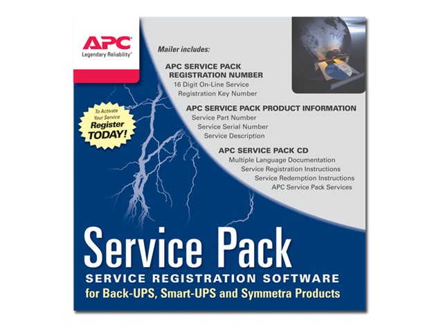 APC : SERVICE pack 1an Garantie extension pour ACCESSORIES