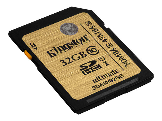 Kingston : 32GB SDHC CLASS 10 UHS-I ULTIMATE FLASH card