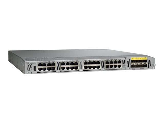 Cisco : N2K-C2232TM-E-10GE (32X1/10GT +8X10GE) AIRFLOW/POWER OPTION en (11.74kg)