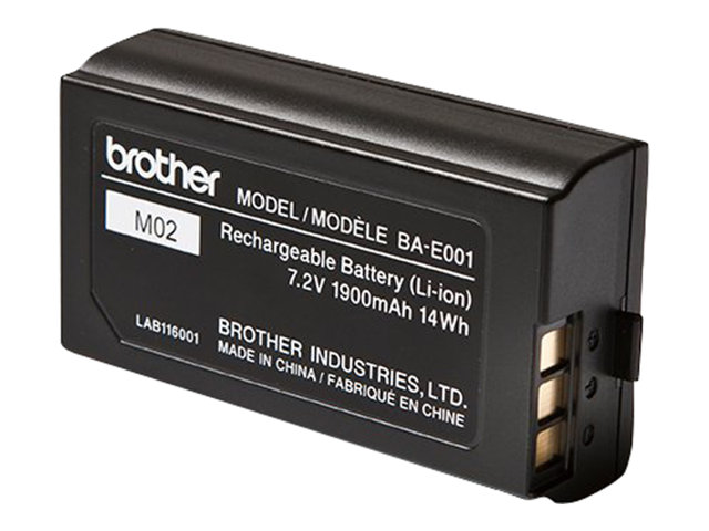 Brother : BATTERIE RECHARGEABLE PT-H300 .