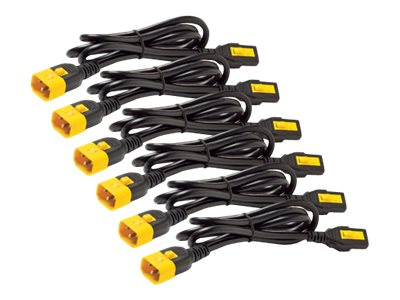 APC : POWER CORD kit (6 EA) LOCKING C13 TO C14 1.2M