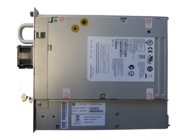 HP : MSL LTO-6 ULTR 6250 FC drive upgrade kit