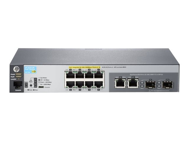 HP : HP 2530-8G-POE+ SWITCH
