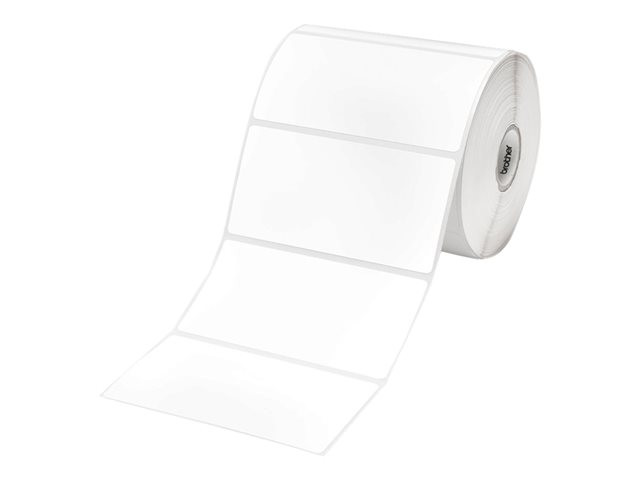 Brother : DIE CUT LABELS WHITE 102MMX50MM 836 LABELS/ROLL