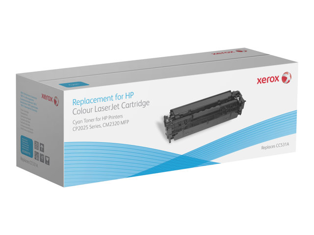 Xerox : TONER XEROX pour HP CC531A 2900 pages