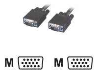 MCL Samar : CABLE VGA HD15 MALE/MALE 3 METRES
