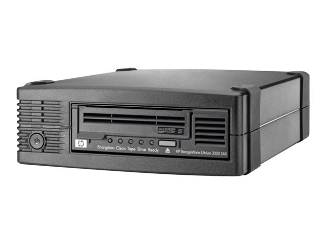 HP : ULTRIUM 3000 SAS EXT drive W/ 5 PCS MEDIA ML