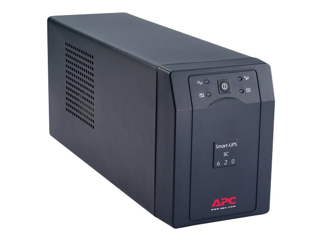 APC : SMART-UPS SC 620VA 390W SER W/ SHUTDOWN SOFTWARE