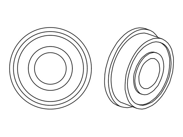 DataMax : 2X BEARING FLANGED - I-CLASS .