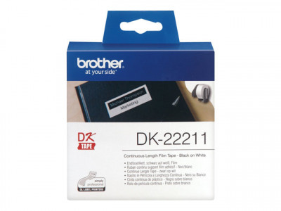 Brother : RUBAN CONT. SUPPT FILM ADHESIF NOIR et BLANC/15M X 29MM
