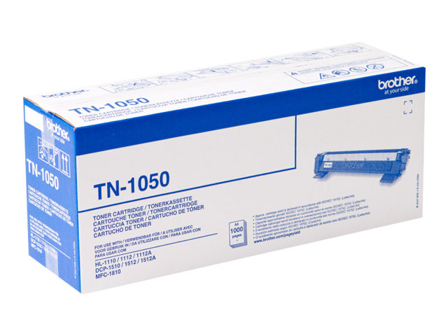 Brother : TN-1050 TONER NOIR 1000 Pages