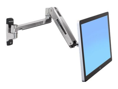 Ergotron : LX HD SIT-STAND WALL MOUNT LCD ARM POLISHED