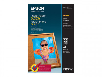 Epson : PHOTO papier GLOSSY A4 20 SHEET