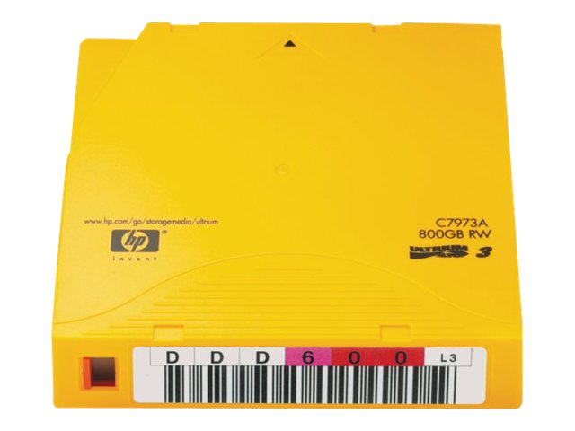 HP : DATA cartridge ULTRIUM 800GB WORM