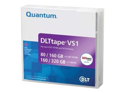 Quantum : DLT VS1/VS160 cartridge 80/160GB SINGLE pack