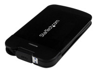 Startech : 2.5IN USB 3.0 SATA SSD/HDD ENCLOSURE - ATTACHED cable UASP