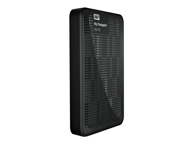 WD : MY PASSPORT AV-TV STORAGE 1TB 2.5IN USB 3.0 & 2.0