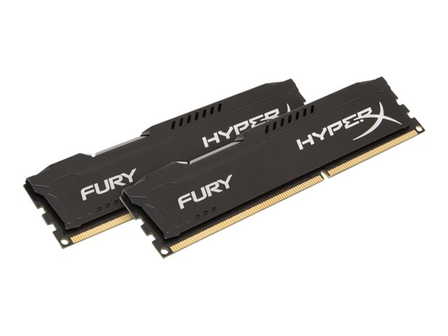 Kingston : 16GB DDR3- 1866MHZ NON-ECC CL10 DIMM (kit OF 2)FURY Noir SERIES