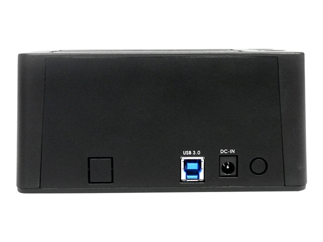 Startech : USB 3.0 DUAL HDD/SSD DOCK avec UASP-2.5/3.5IN HARD drive DOCK