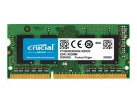 Crucial : 4GB DDR3 1866 MT/S (PC3-14900) CL13 SODIMM 204PIN 1.35V/1.5V SR