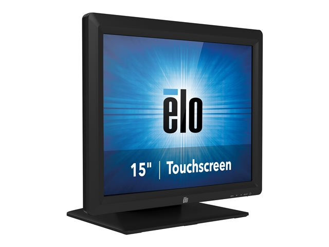 Elo Touch : ET1517L-7CWB-1-BL-G DESKTOP 15IN A-TOUCH A-GLARE Noir