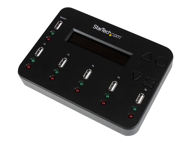 Startech : STANDALONE 1:5 USB FLASH drive DUPLICATOR & MULTI-PASS ERASER
