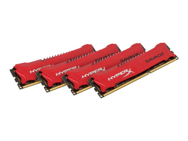 Kingston : 32GB DDR3-1600MHZ NON-ECC CL9 DIMM (kit OF 4) XMP SAVAGE