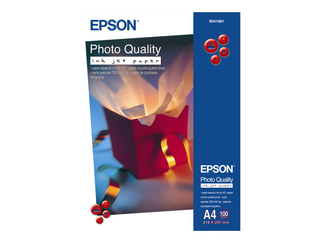 Epson : PAPIER COUCHE QUALITE Photo A3+ 100g/m2 100Feuilles