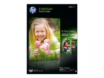 HP : PAPIER Photo HP SEMI-GLACE 170 G/M A4 100 FEUILLES