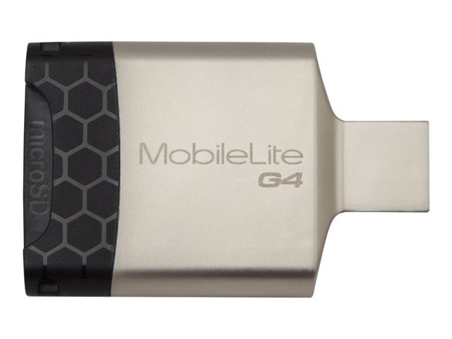 Kingston : MOBILELITE G4 USB 3.0 MULTI-CARD READER