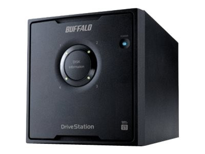 Buffalo Technology : DRIVESTATION QUAD 8TB USB3.0 4X 2TB HDD RAID 0/1/5/10 (7.78kg)