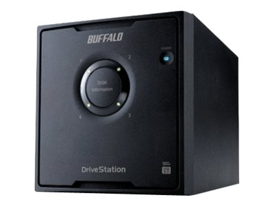 Buffalo Technology : DRIVESTATION QUAD 12TB USB3.0 4X 3TB HDD RAID 0/1/5/10 (7.58kg)
