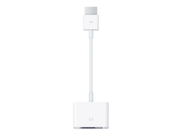 Apple : HDMI TO DVI ADAPTER cable