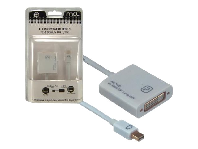 MCL Samar : MINI DISPLAYPORT TO DVI ACTIVE .