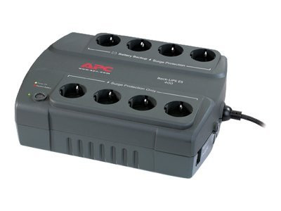 APC : SURGE PROTECTION BACKUP 400VA W/ 8 SOCKETS