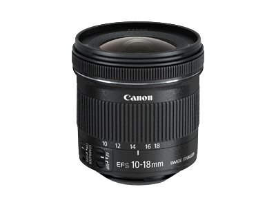 Canon : EF-S 10-18MM IS STM .