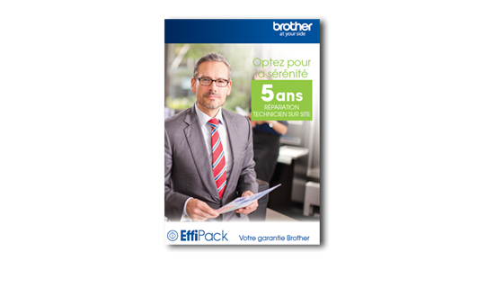 Brother EFFI5RSE - Extension de garantie EffiPack 5 ans Réparation sur Site
