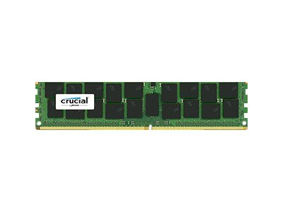 Crucial : 16GB DDR4 2133 MT/S (PC4-2133) CL15 DR X4 ECC REG DIMM 288PIN
