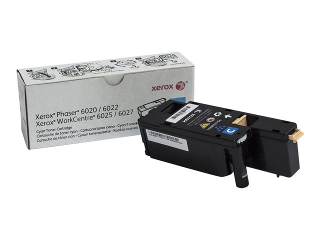 Xerox : Cartouche Toner STANDARD CYAN 1000 PAGES pour 6020222527