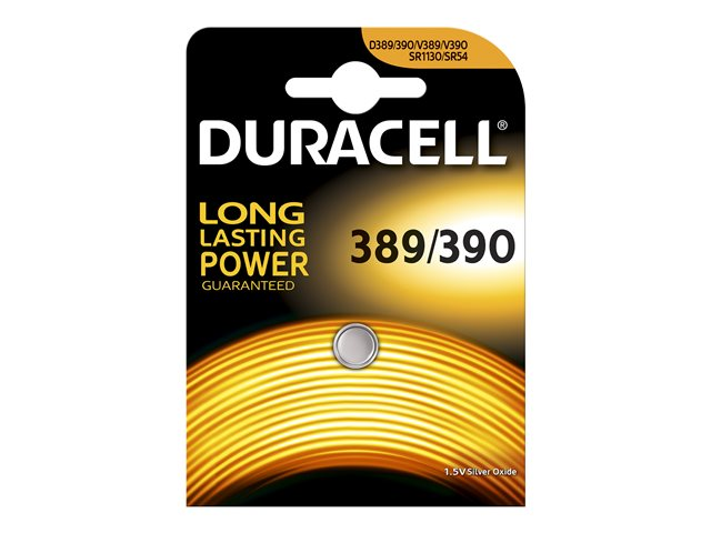 Duracell : PILE BOUTON SPECIALE PILE 389/390