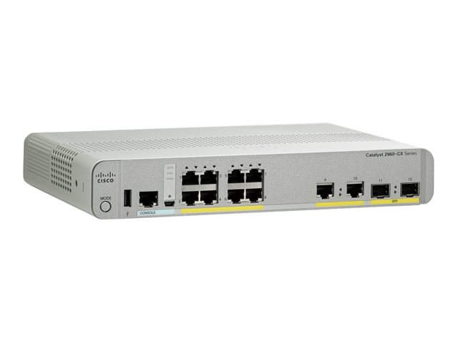 Cisco : CATALYST 2960-CX 8 PORT data LAN BASE
