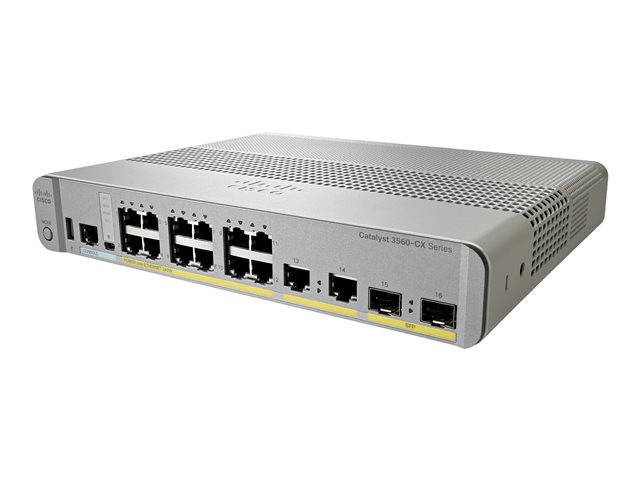 Cisco : CATALYST 3560-CX 12 PORT POE IP BASE