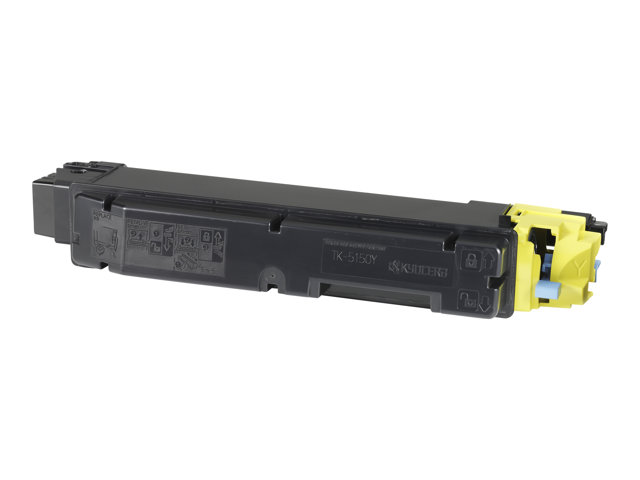 Kyocera Mita : TK-5150Y TONER-kit GELB INCL CONTAINER F/10000 PAGES