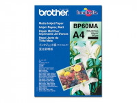 Brother : BP-60MA MATT InkJet papier A4 - 25 SHEETS